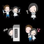 【限定スタンプ】「カルピスウォーター」キュン飲みスタンプ(2015年06月22日まで)