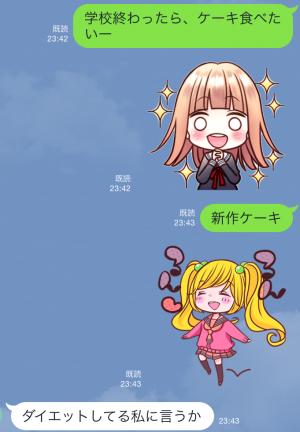 【隠しスタンプ】りぼん60周年記念スタンプ第1弾 スタンプ(2015年06月07日まで) (8)