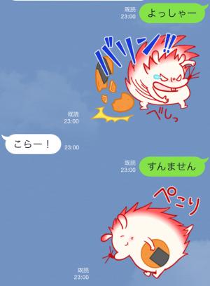 【限定スタンプ】新キャラ!ハリ田みず吉デビュー♪ スタンプ(2015年07月13日まで) (7)