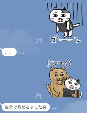 【限定スタンプ】ゾゾタウン箱猫マックス第2弾 スタンプ(2015年07月20日まで) (12)