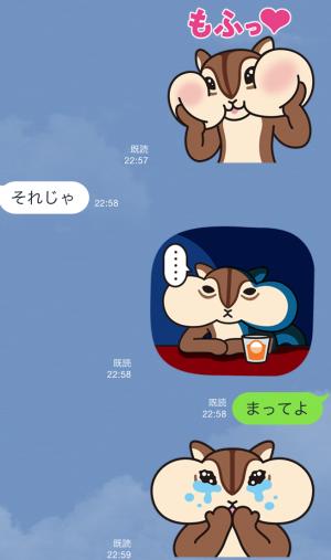 【限定スタンプ】ちょリス スタンプ(2015年07月20日まで) (7)