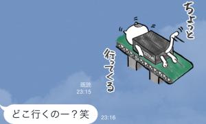 【限定スタンプ】ゾゾタウン箱猫マックス第2弾 スタンプ(2015年07月20日まで) (13)