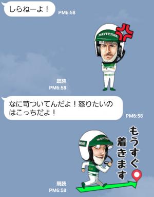 【企業マスコットクリエイターズ】Mr.NAVITIME スタンプ (6)