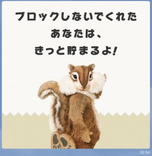 【限定スタンプ】ちょリス スタンプ(2015年07月20日まで) (4)