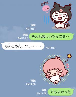 【公式スタンプ】続々・ゆるかわ サンリオキャラクターズ スタンプ (7)