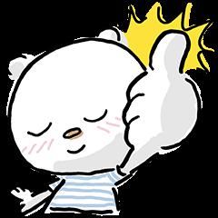 【限定スタンプ】ニトリのシロクマ スタンプ(2015年07月13日まで)