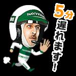 【企業マスコットクリエイターズ】Mr.NAVITIME スタンプ