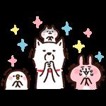 【無料スタンプ速報】白戸家のお父さん×カナヘイ コラボ第2弾 スタンプ(2015年06月29日まで)