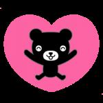 【無料スタンプ速報】動く♪くろくまくんファミリー スタンプ(2015年07月27日まで)