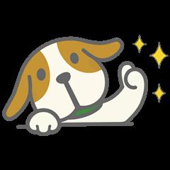 【無料スタンプ速報】エン太スタンプ第2弾 スタンプ(2015年08月27日まで)