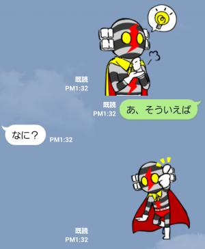 【テレビ番組企画スタンプ】デンセンマン(電線マン) スタンプ (7)
