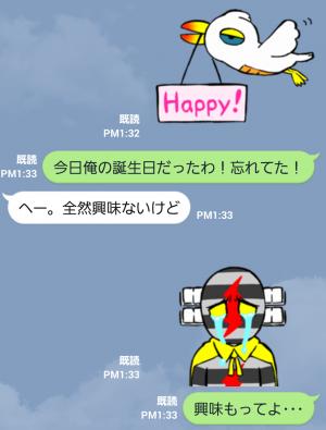【テレビ番組企画スタンプ】デンセンマン(電線マン) スタンプ (8)