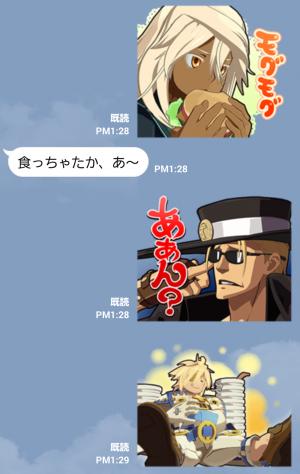 【ゲームキャラクリエイターズスタンプ】GUILTY GEAR Xrd スタンプ (4)