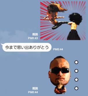 【スポーツマスコットスタンプ】新日本プロレスリングスタンプ Ver.2 スタンプ (7)