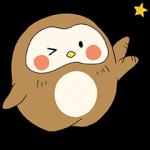 【限定スタンプ】NEW!ぽふぽふフク子さん☆ スタンプ(2015年08月17日まで)