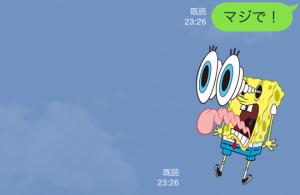【音付きスタンプ】バニラエア x スポンジ・ボブ スタンプ(2015年08月24日まで) (10)