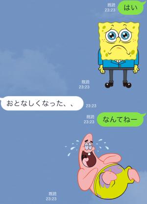 【音付きスタンプ】バニラエア x スポンジ・ボブ スタンプ(2015年08月24日まで) (7)