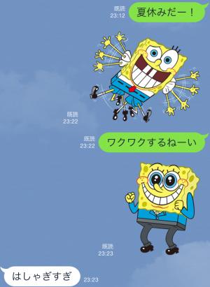 【音付きスタンプ】バニラエア x スポンジ・ボブ スタンプ(2015年08月24日まで) (6)