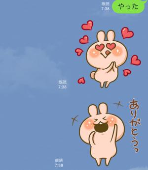 【隠し無料スタンプ】かまってウサちゃん&ほいっくまとミミー スタンプ(2015年09月14日まで) (14)