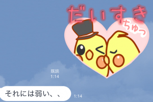 【オススメスタンプ】日常使える可愛いオカメ スタンプ (9)