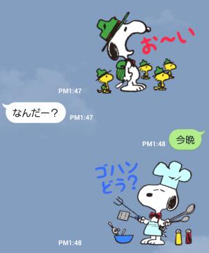 【公式スタンプ】スヌーピー★変装シリーズ スタンプ (3)