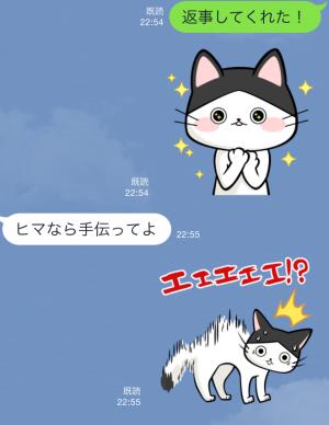 【限定無料スタンプ】いぬ・ねこのきもち「柴太郎」と「はちこ」 スタンプ(2015年09月07日まで) (9)