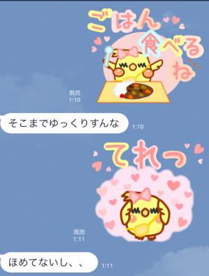 【オススメスタンプ】日常使える可愛いオカメ スタンプ (7)