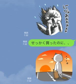 【動く限定無料スタンプ】タマ川 ヨシ子(猫)オール新作第7弾♪ スタンプ(2015年09月14日まで) (10)