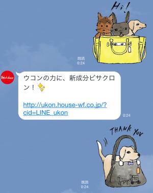 【隠しスタンプ】ウコンの力で「攻めていこーぜ!」 スタンプ(2015年10月25日まで) (3)