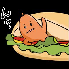 【無料スタンプ速報】あらびき星人 ソップリン スタンプ(2015年09月21日まで)
