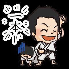 【スポーツマスコットスタンプ】丸山顕志公式スタンプ