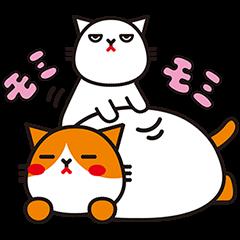 【限定無料スタンプ】1周年記念! ふてニャン ふてスタンプ(2015年09月07日まで)