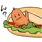 【動く限定無料スタンプ】あらびき星人 ソップリン スタンプ(2015年09月21日まで)