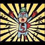【限定無料スタンプ】ガリバー × Do your best. Hero スタンプ(2015年09月21日まで)
