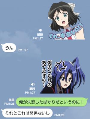 【音付きスタンプ】戦姫絶唱シンフォギア スタンプ (4)