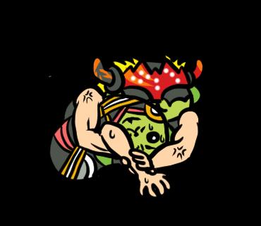 【クリエイターズスタンプランキング(930)】豆しばx新日本プロレスのコラボスタンプが登場!いきなり大人気!