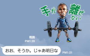 【限定無料スタンプ】世界最速の男 ボルトスタンプ(2015年10月05日まで) (8)