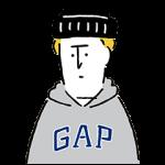 【無料スタンプ速報:隠しスタンプ】GAP日本上陸20周年記念スタンプ(2015年11月23日まで)