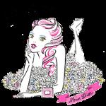 【無料スタンプ速報:隠しスタンプ】ミス ディオール スタンプ(2015年11月23日まで)
