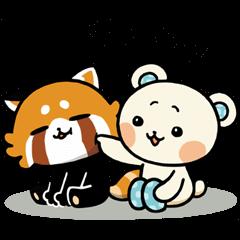 【無料スタンプ速報】しろたさんとれさ丸 スタンプ(2015年11月23日まで)