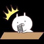 【無料スタンプ速報】第二弾★フラッシュセール×うさまる スタンプ(2015年10月05日まで)