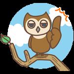 【無料スタンプ速報:隠しスタンプ】ふくろうのフォーフォ新登場だフォ~! スタンプ(2015年12月01日まで)