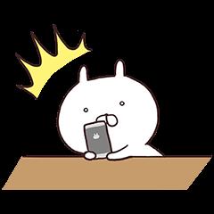 【限定無料スタンプ】第二弾★フラッシュセール×うさまる スタンプ(2015年10月05日まで)