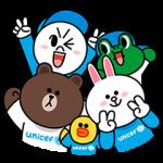 【公式スタンプ】LINE X UNICEF スペシャルエディション スタンプ