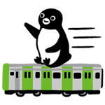 【隠し無料スタンプ】Suicaのペンギン スタンプ(2015年12月10日まで)