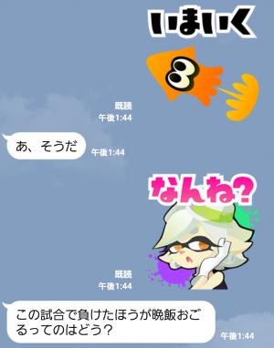 【限定無料スタンプ】Splatoon(スプラトゥーン) スタンプ(2015年10月26日まで) (8)