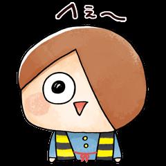 【アニメ・マンガキャラクリエイターズ】ゆる~いゲゲゲの鬼太郎2 スタンプ