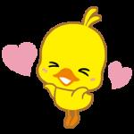 【隠し無料スタンプ】チキンラーメン ひよこちゃんスタンプ(2015年12月28日まで)