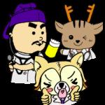 【大学・高校マスコットクリエイターズ】奈良医大「白橿生祭」オリジナルスタンプ