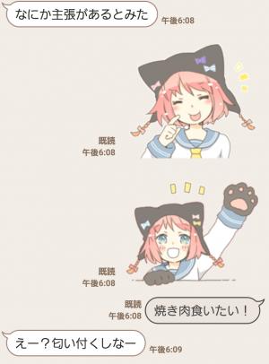 【萌えクリエイターズスタンプ】ねこみみっこネココ 4 スタンプ (6)